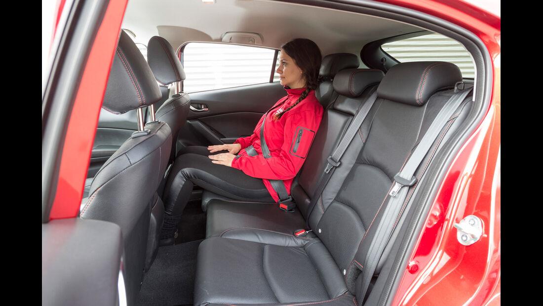 Mazda 3 Skyactive G 120, Fond