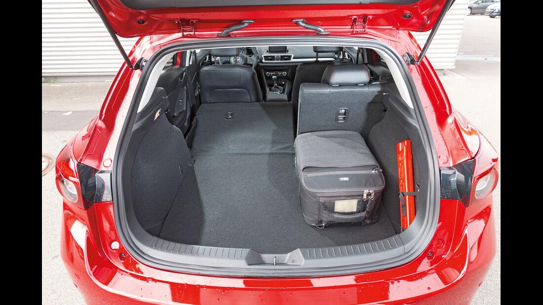 Mazda 3 Skyactive G 120, Kofferraum