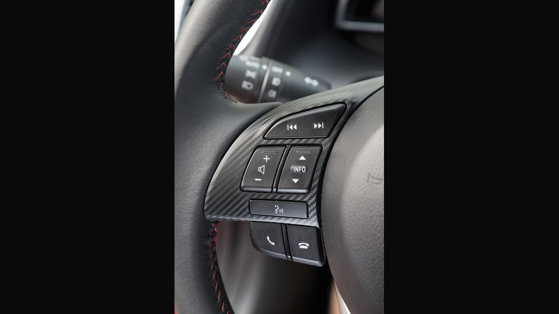 Mazda 3 Skyactive G 120, Lenkradbedienung
