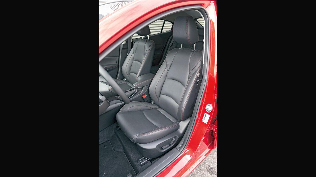 Mazda 3 Skyactive G 120, Sitze