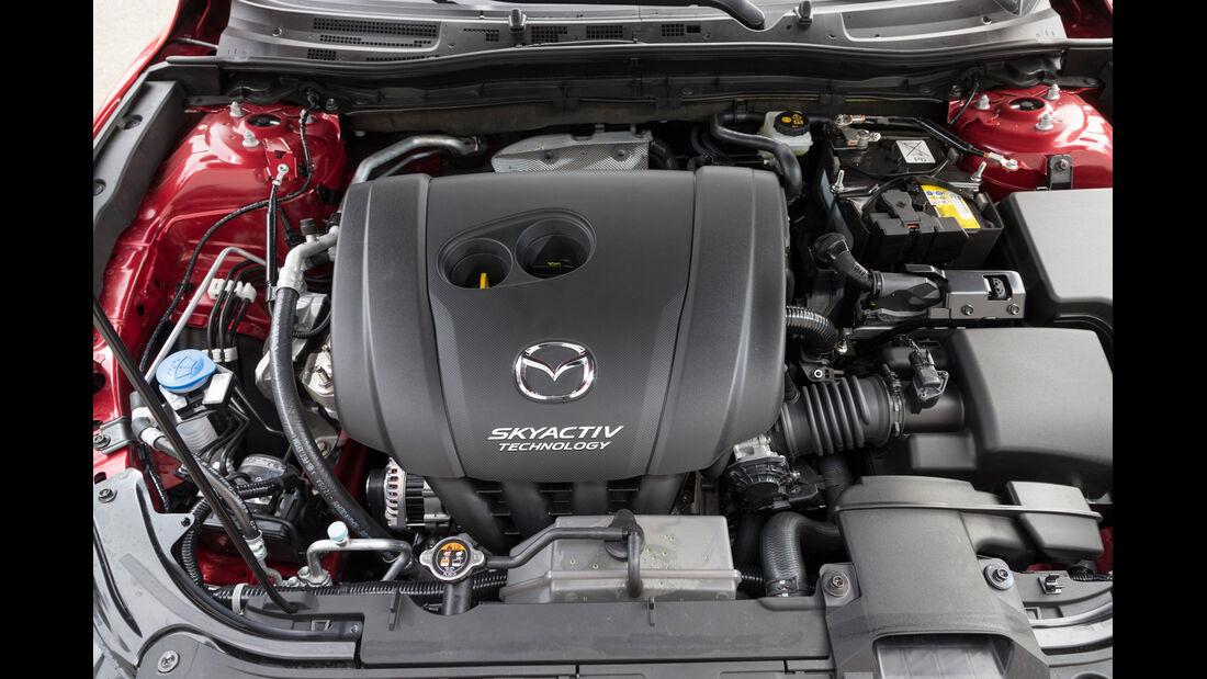 Mazda 3 Skyactive G 129, Motor
