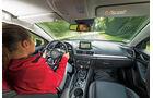 Mazda 3 Skyactive G 130, Cockpit