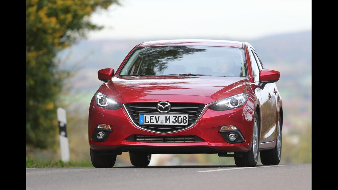 Mazda 3 Skyaktiv D 150, Frontansicht