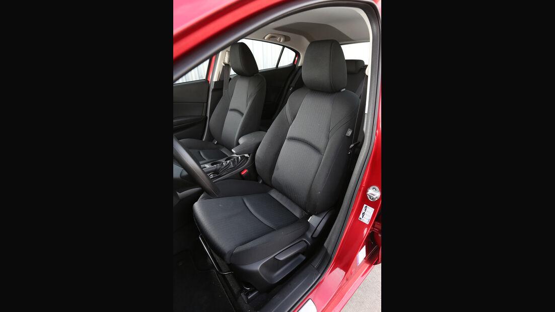 Mazda 3 Skyaktiv-G 100, Fahrersitz
