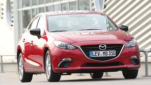 Mazda 3 Skyaktiv-G 100, Frontansicht