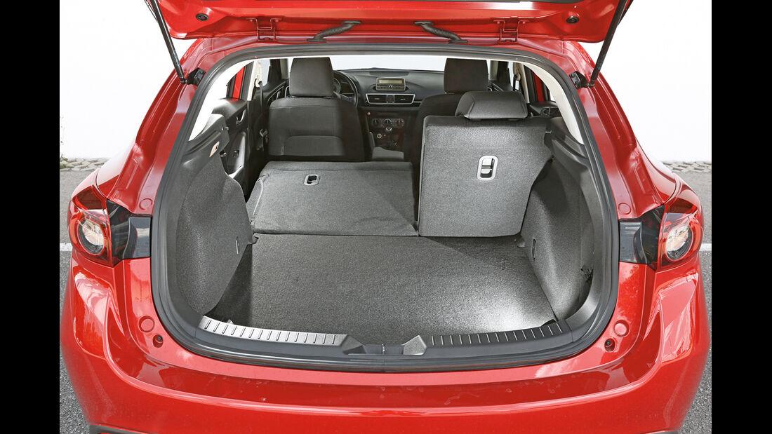 Mazda 3 Skyaktiv-G 100, Kofferraum