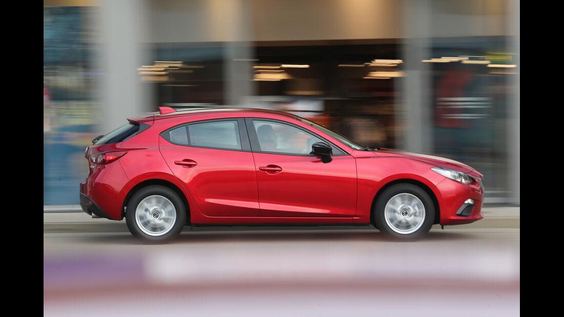 Mazda 3 Skyaktiv-G 100, Seitenansicht