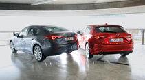 Mazda 3, Stufen- und Schrägheck