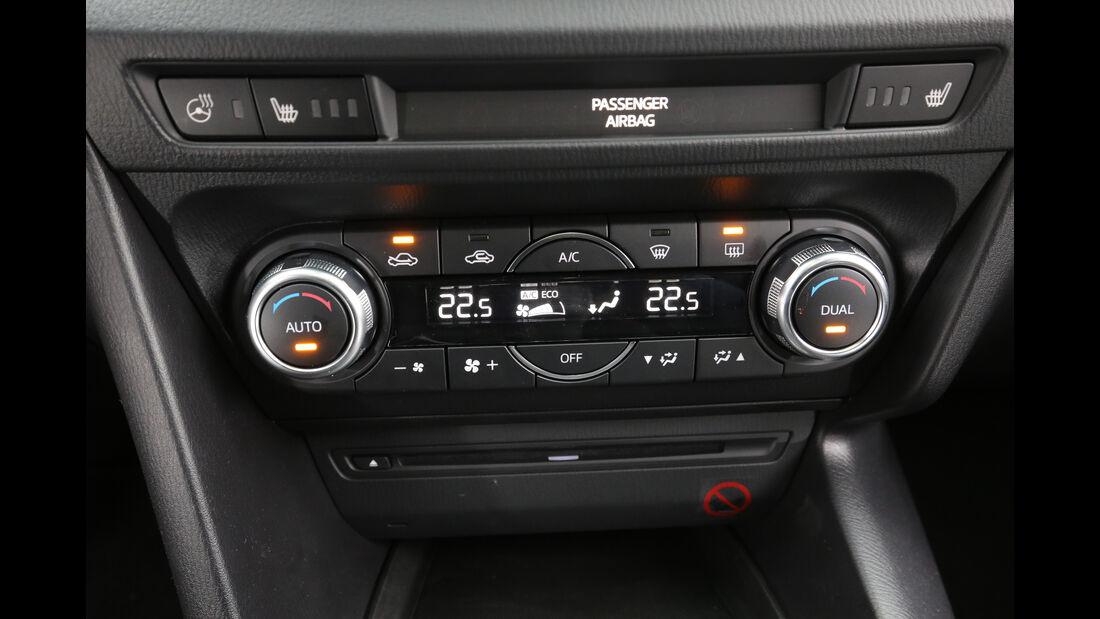 Mazda 3, Temperaturregler