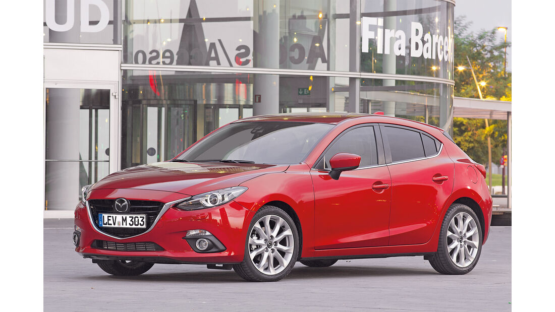 Mazda 3 Viertürer