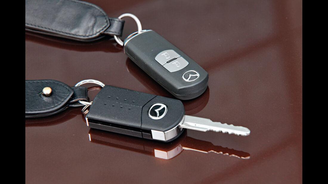 Mazda 3, Zündschlüssel