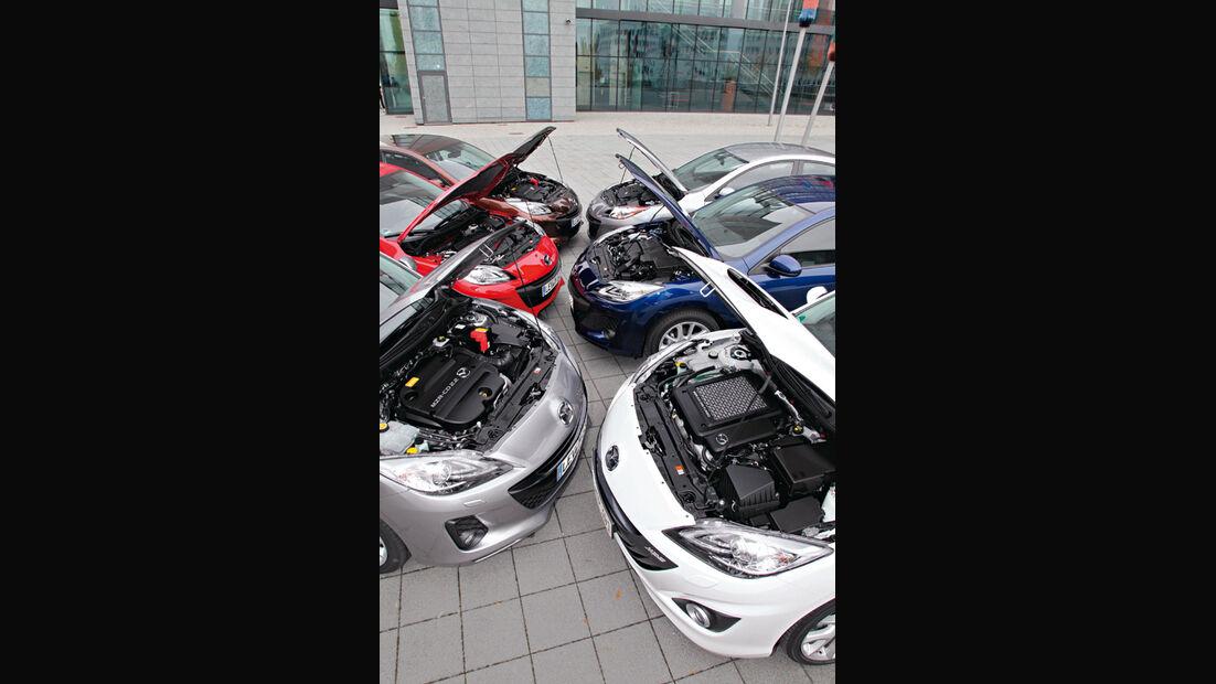 Mazda 3, verscheidene Modelle, Motorhaube