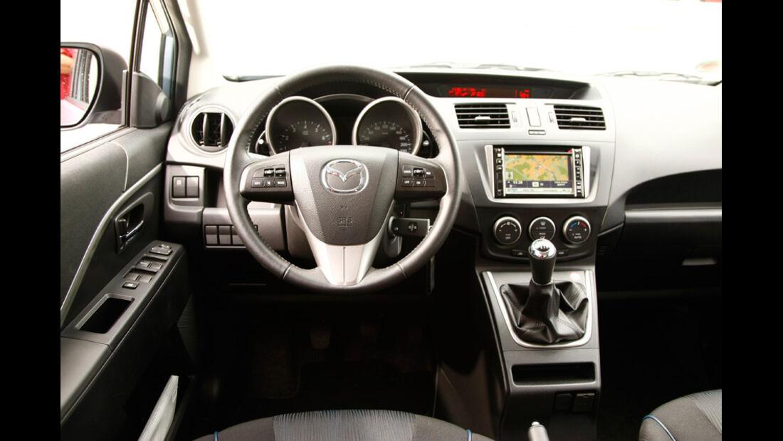 Mazda 5 1.8 MZR Center Line, Cockpit, Lenkrad