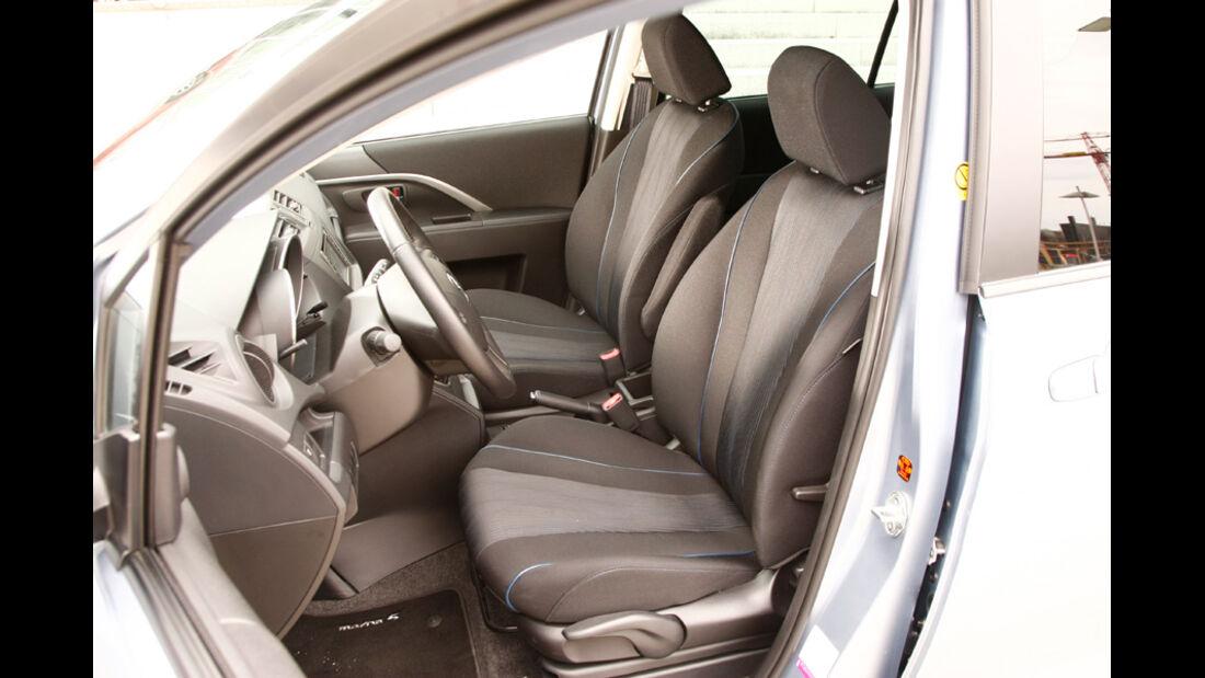 Mazda 5 1.8 MZR Center Line, Fahrersitz