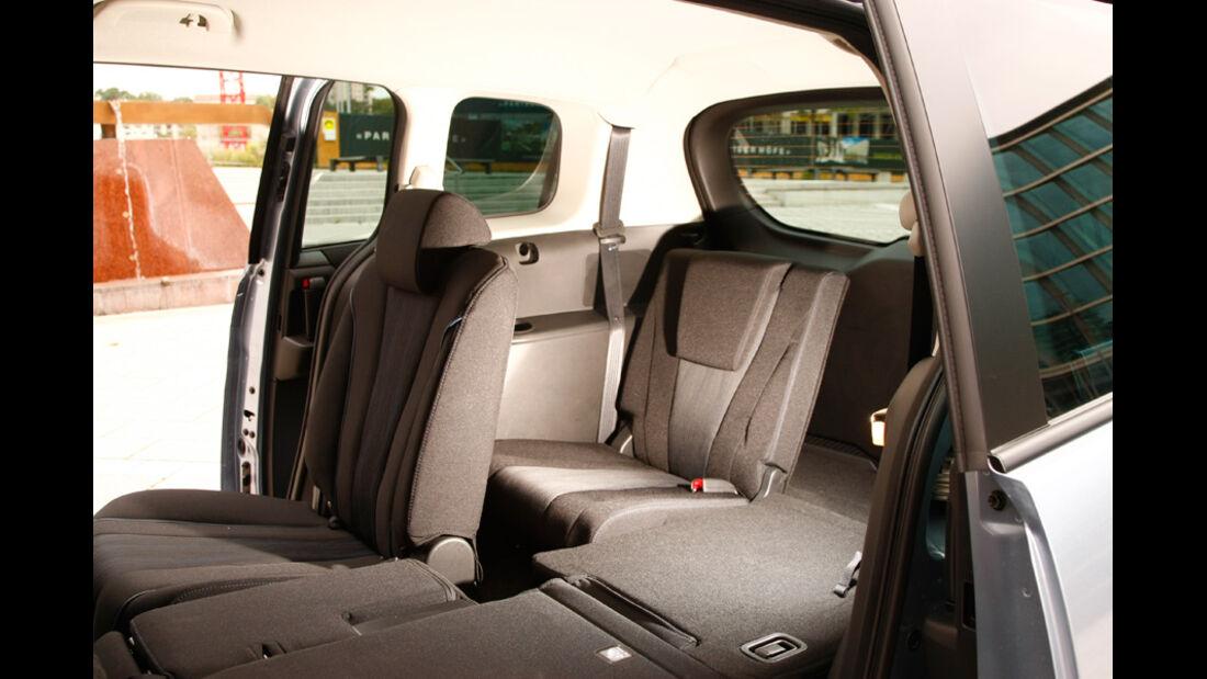 Mazda 5 1.8 MZR Center Line, Innenraum, Sitze