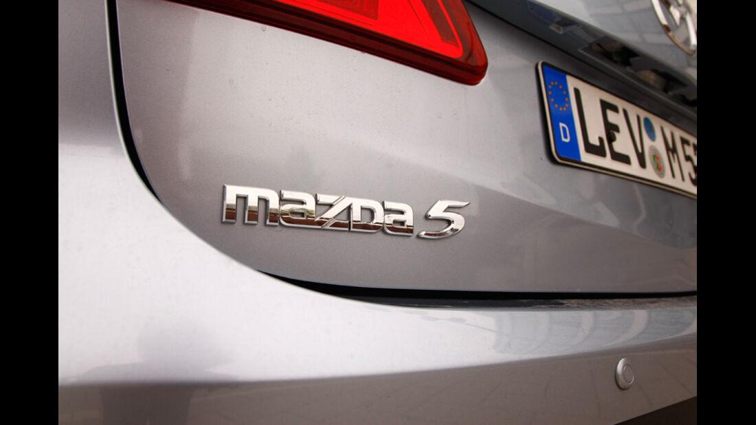 Mazda 5 1.8 MZR Center Line, Typenbezeichnung, Emblem