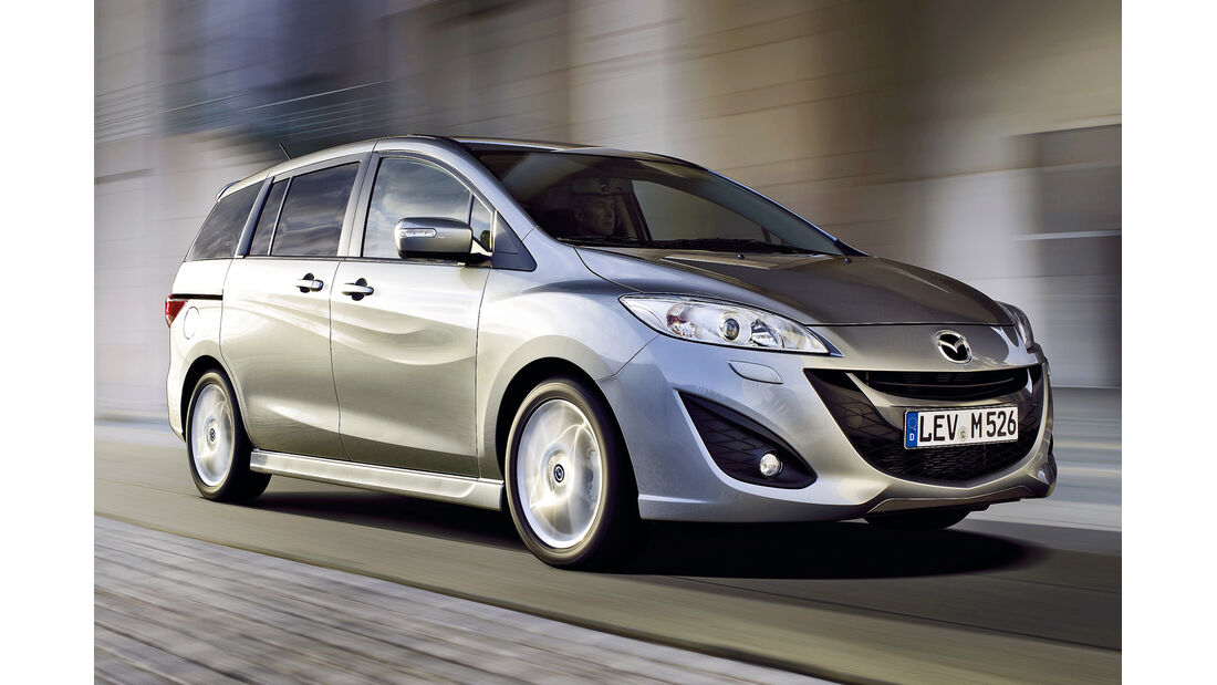 Mazda 5, Frontansicht
