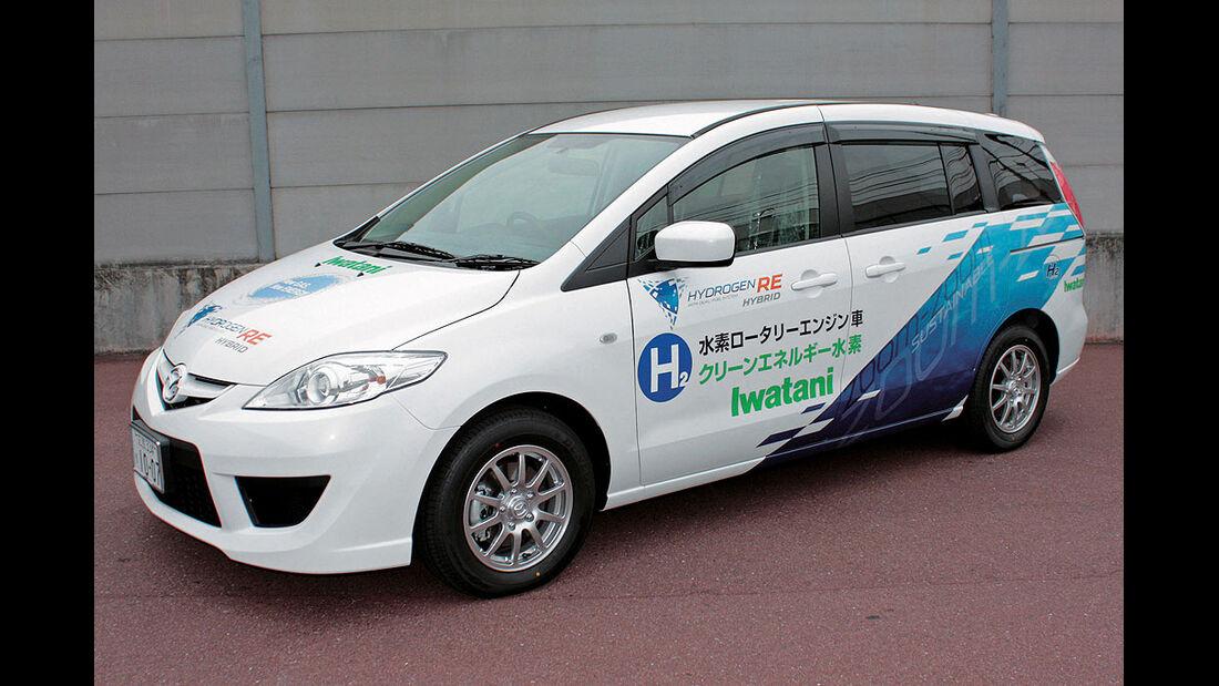 Mazda 5 Hydrogen RE Hybrid