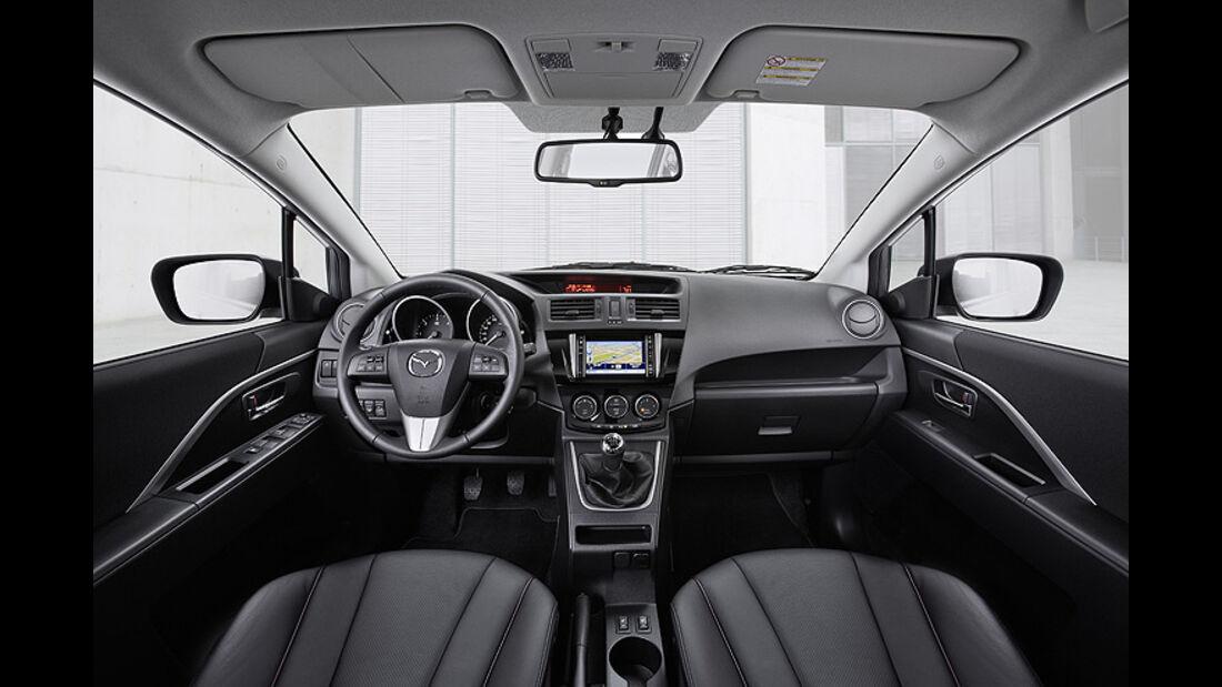 Mazda 5 Modellpflege 2013, Innenraum, Cockpit