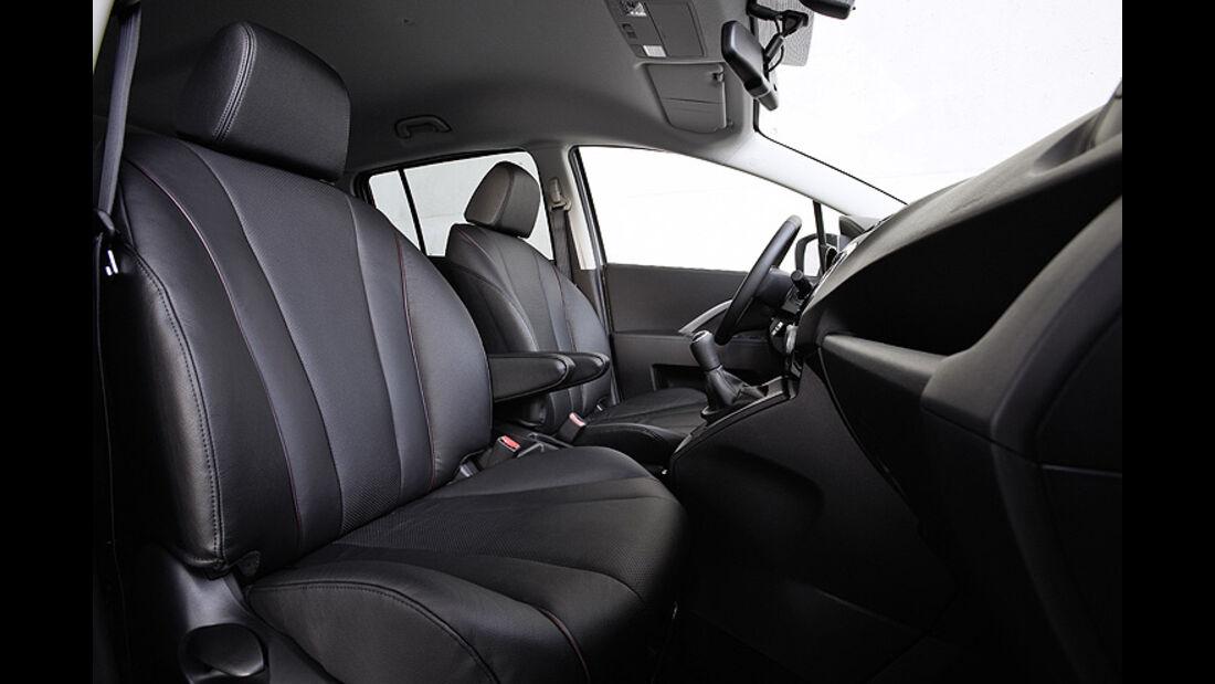 Mazda 5 Modellpflege 2013, Innenraum, Cockpit, Sitze