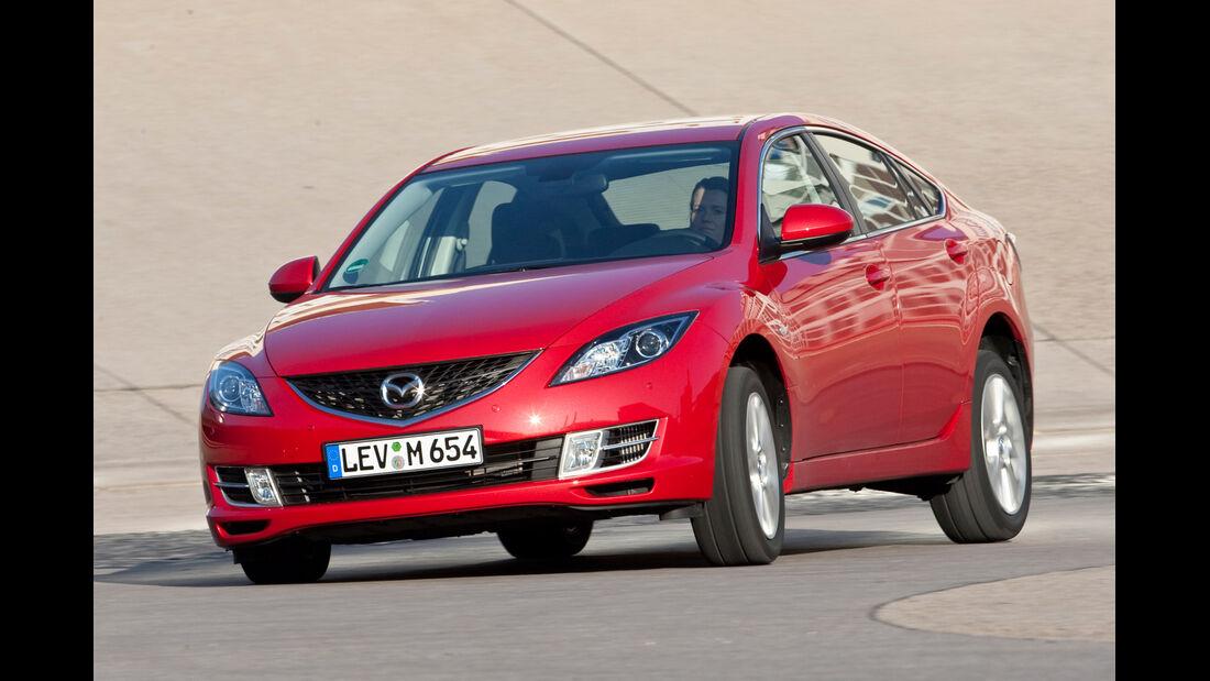 Mazda 6 2.0 MZR, Frontansicht