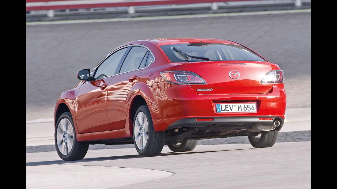 Mazda 6 2.0 MZR, Heckansicht