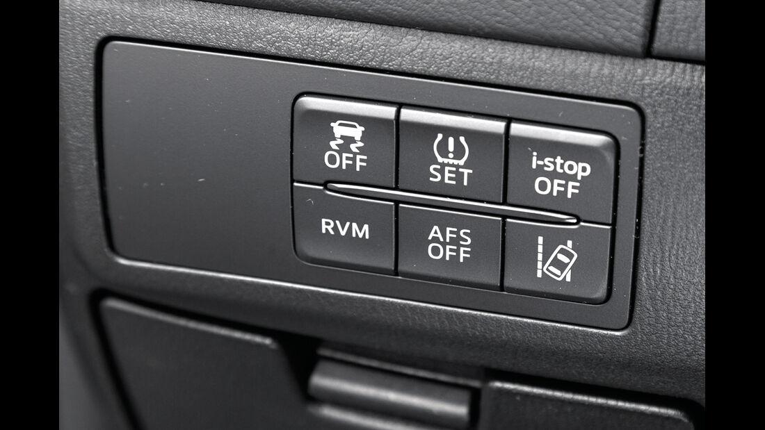 Mazda 6 2.0i, Bedienelemente