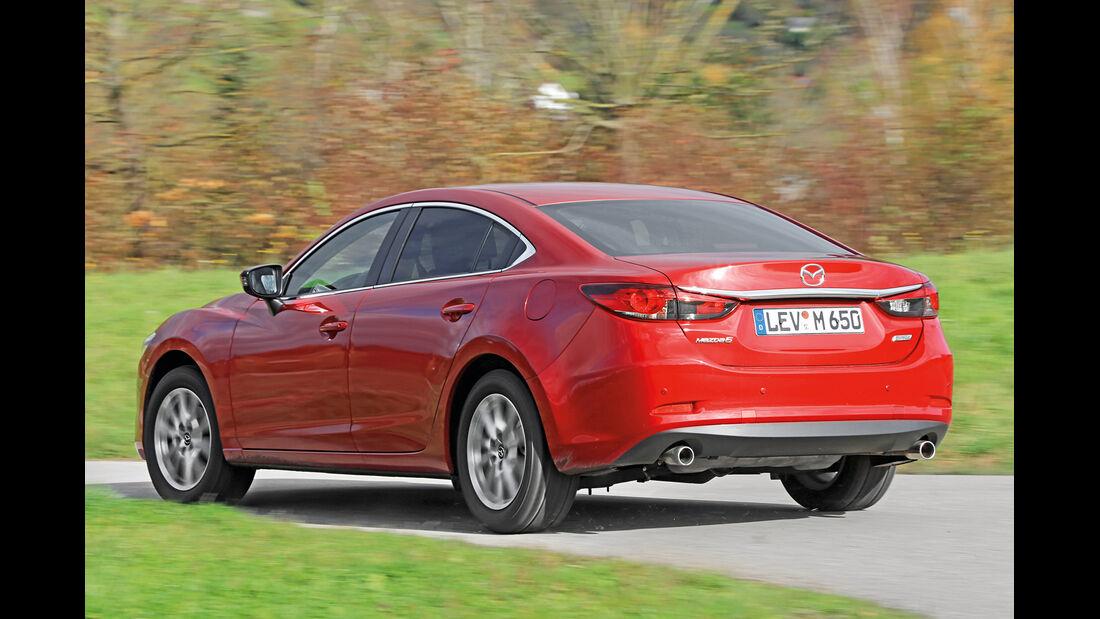 Mazda 6 2.2 D 150, Heckansicht