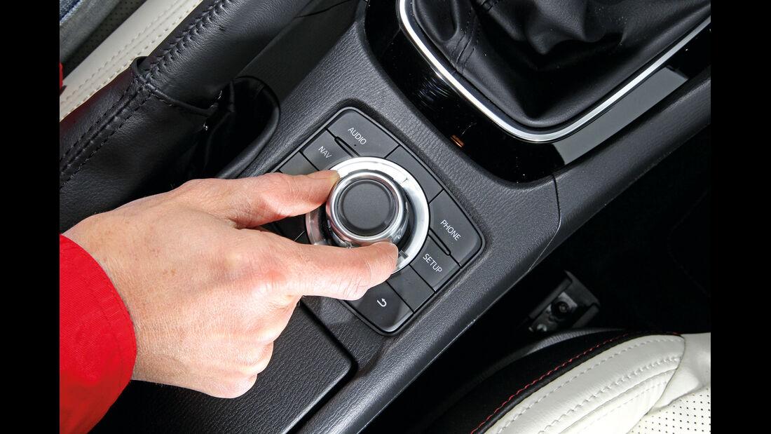 Mazda 6 2.2 D, Bedienelement