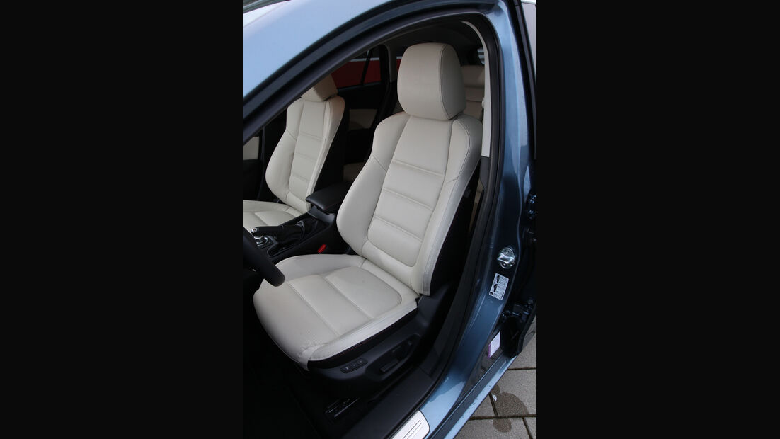 Mazda 6 2.2 D, Fahrersitz