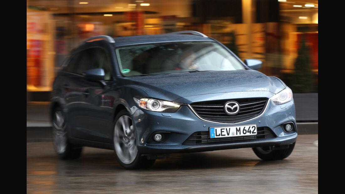 Mazda 6 2.2 D, Frontansicht