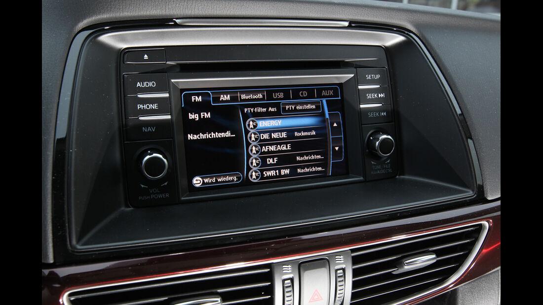 Mazda 6 2.2 D, Navi, Display