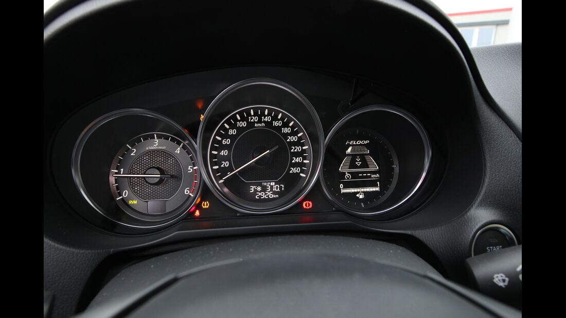 Mazda 6 2.2 D, Rundinstrumente