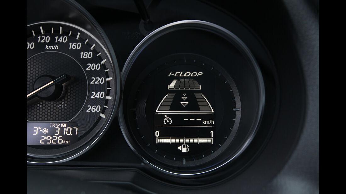 Mazda 6 2.2 D, Rundinstrumente, i-Eloop