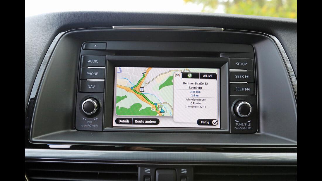Mazda 6 2.2 l D Center-Line, Navi