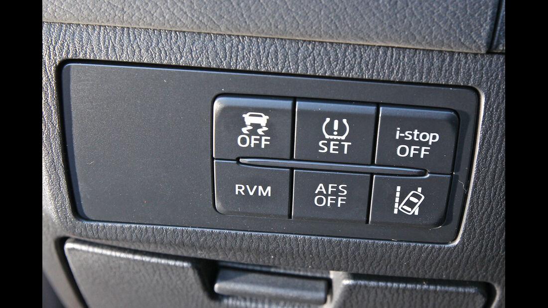Mazda 6, Bedienelemente
