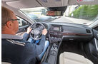 Mazda 6, Cockpit, Fahrersicht