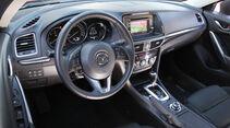Mazda 6, Cockpit, Lenkrad