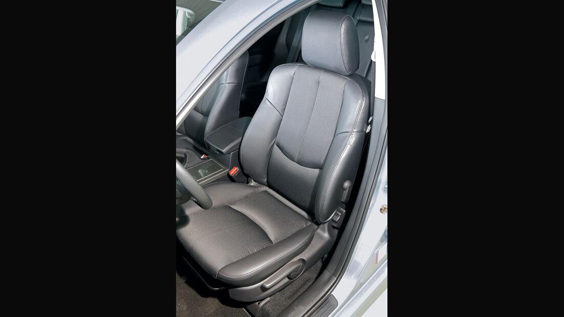 Mazda 6, Fahrersitz