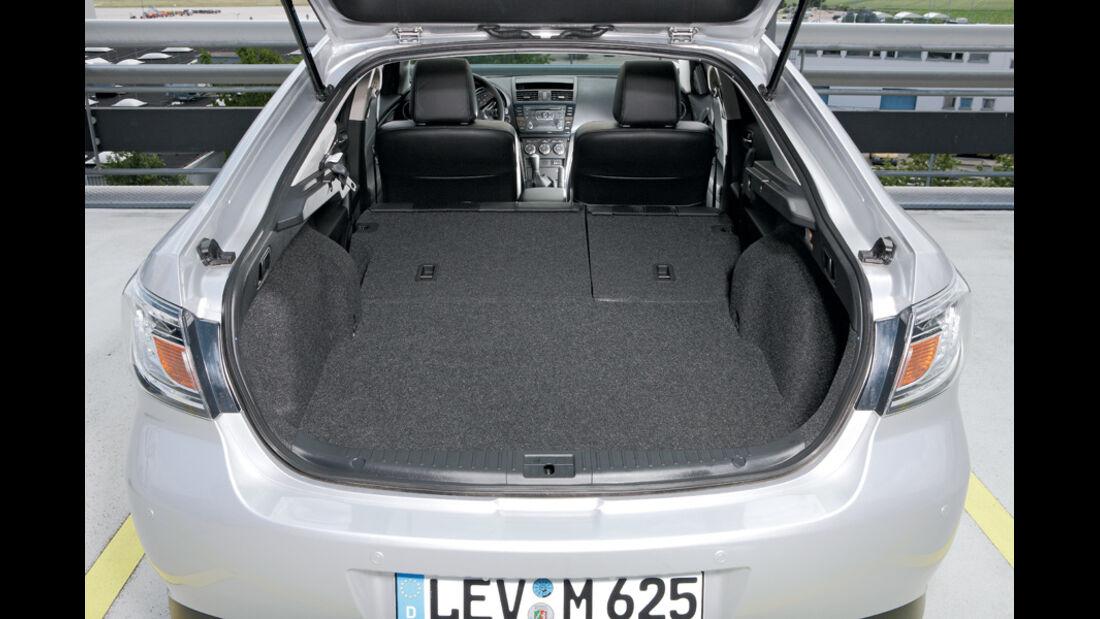 Mazda 6, Fliessheck, Kofferraum