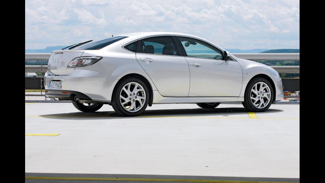 Mazda 6, Fliessheck, Seitenansicht