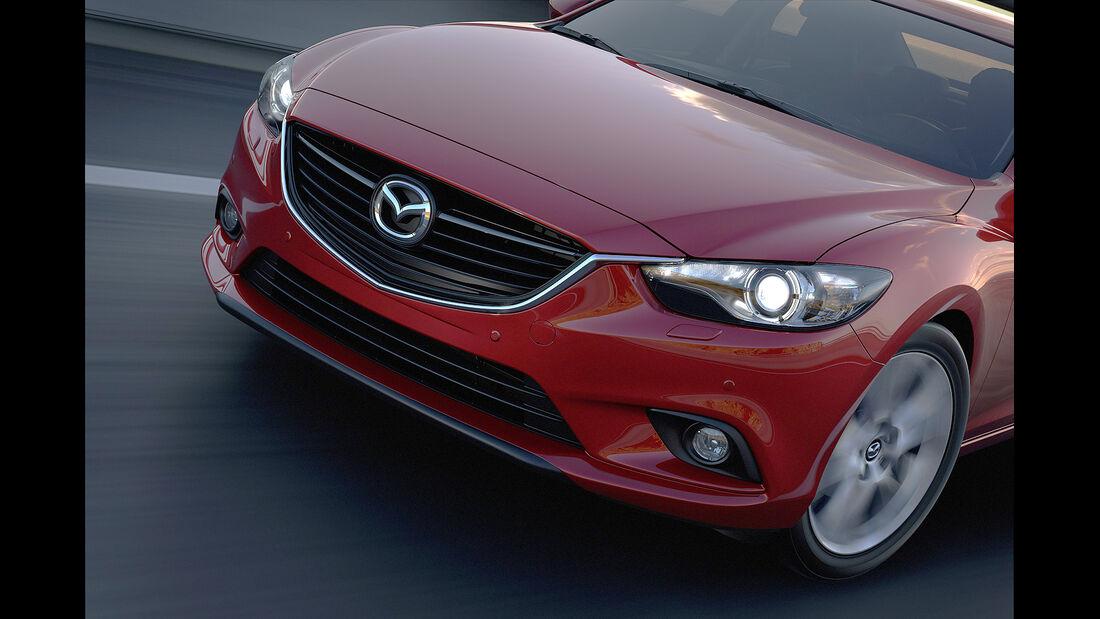 Mazda 6, Front