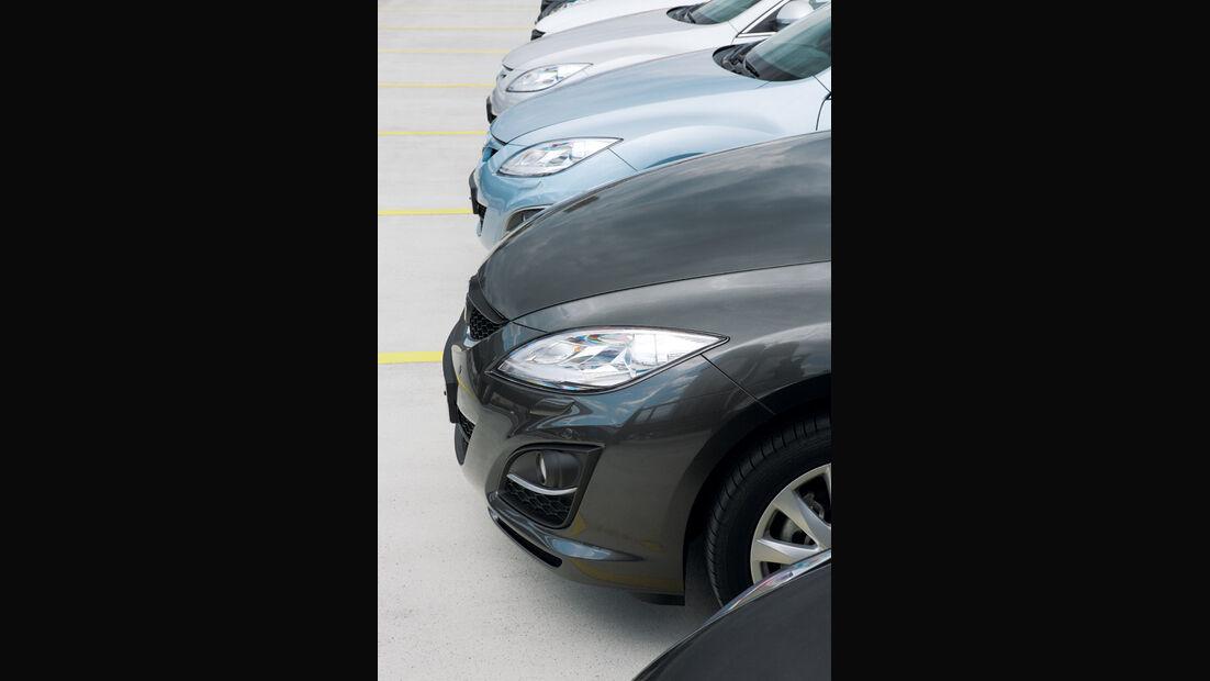 Mazda 6, Front, Motorhaube, Gruppenbild