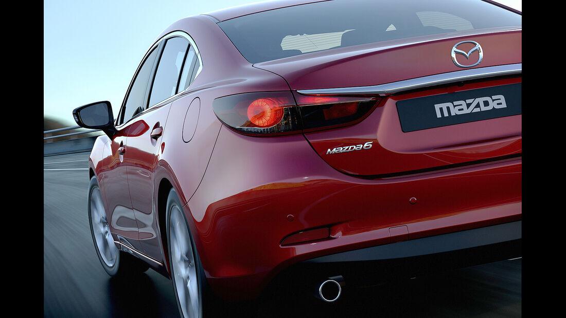 Mazda 6, Heck, Rückleuchten