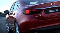 Mazda 6, Heckansicht