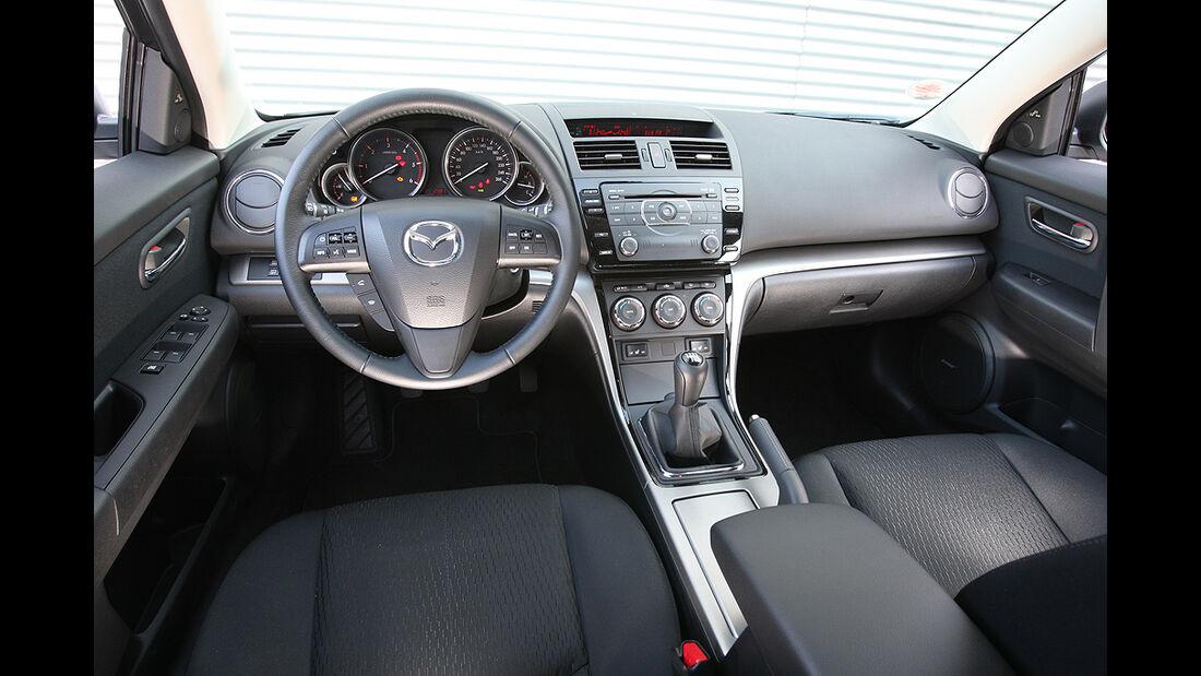 Mazda 6, Innenraum, Cockpit