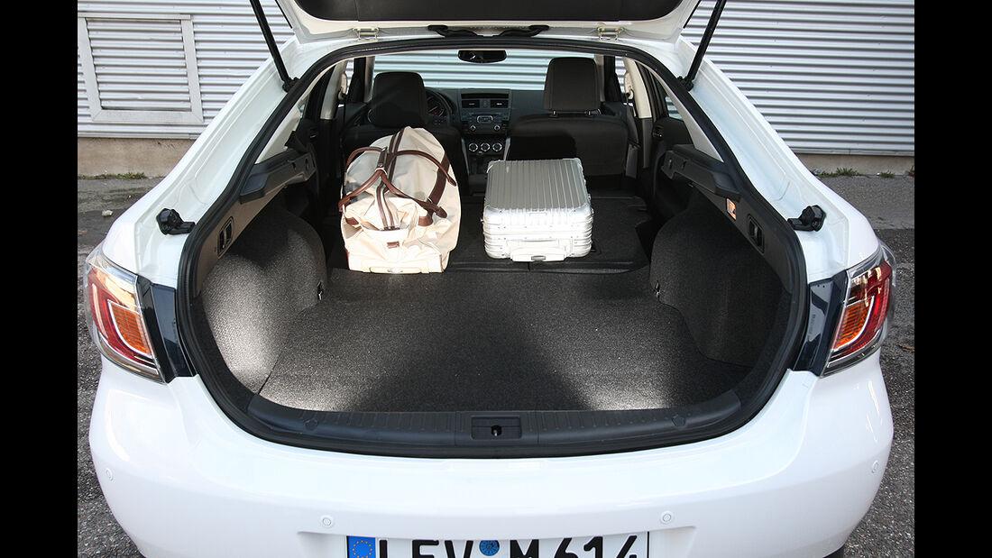 Mazda 6, Kofferraum