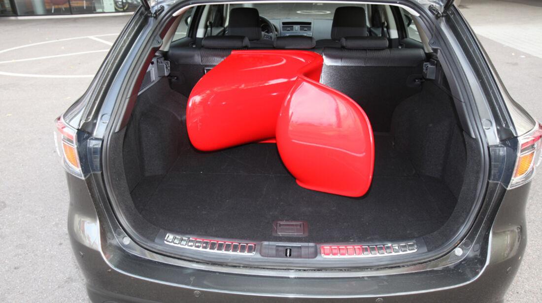 Mazda 6 Kombi 2.2, Kofferraum