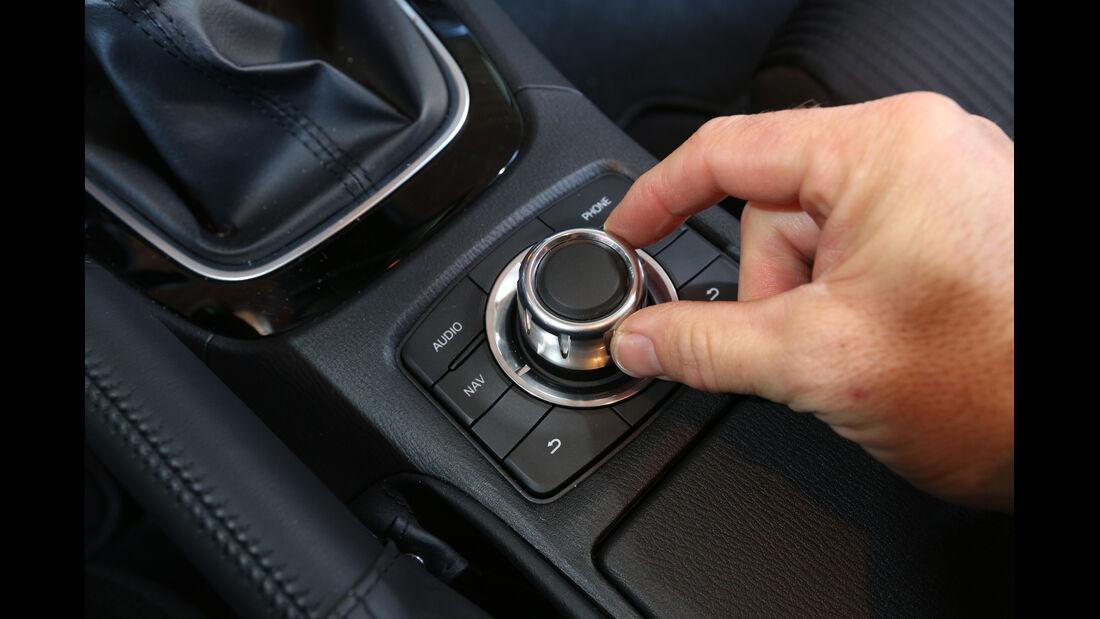 Mazda 6 Kombi 2.2 L D, Drehregler