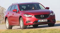 Mazda 6 Kombi 2.2 L D, Frontansicht